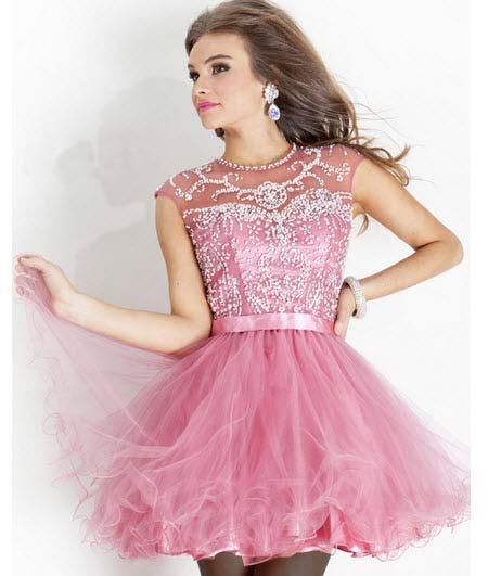 جدیدترین مدلهای لباس مجلسی دخترانه