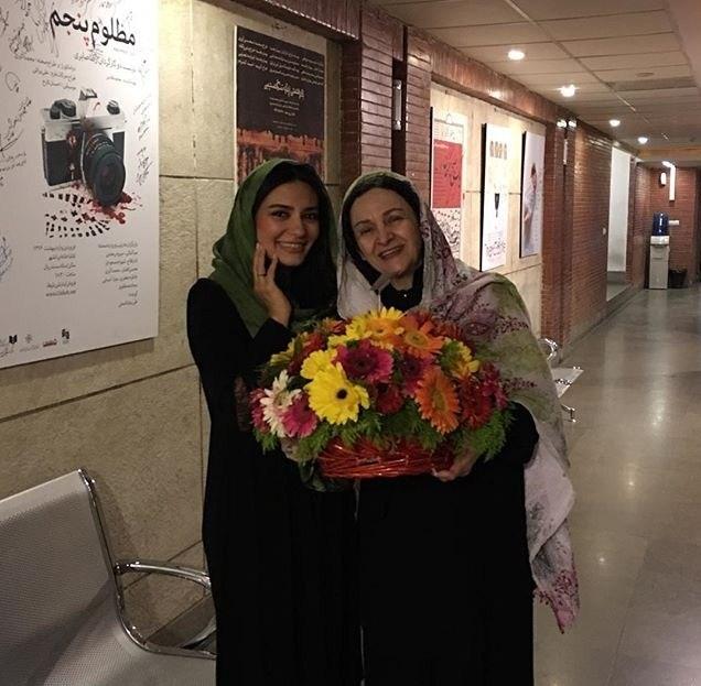 گلاب آدینه و لیندا کیانی