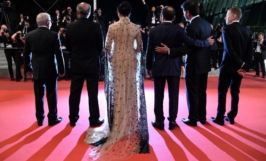 لباس ترانه علیدوستی در جشنواره فیلم کن ۲۰۱۶