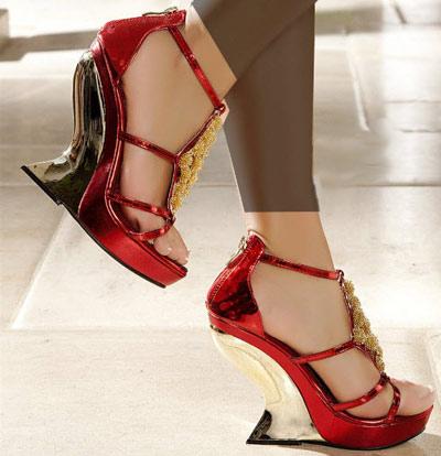 مدل کفش های پاشنه بلند مجلسی