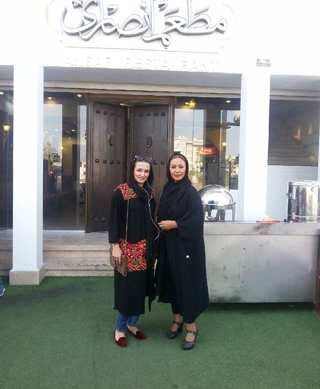 عکس زیبا بروفه و روناک یونسی در بندرعباس