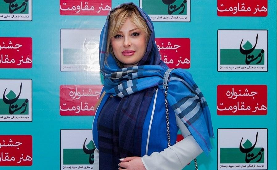 نیوشا ضیغمی در کنسرت گروه کردی در تالار ایوان شمس95