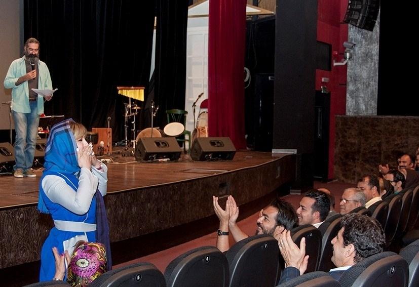 عکسهای نیوشا ضیغمی در کنسرت حسین صفامنش