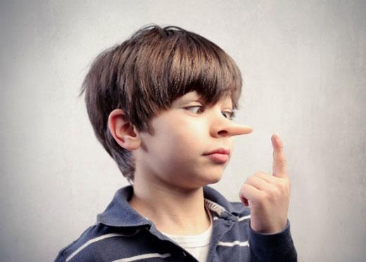 راههای علاج دروغ گویی کودکان