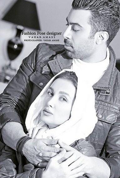 عکس روناک یونسی و همسرش محسن میری