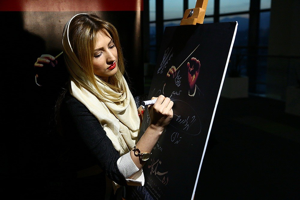 عکسهای سمیرا حسینی در پردیس سینمایی چارسو