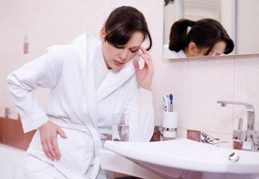 راههای مقابله با مشکلات شایع بارداری