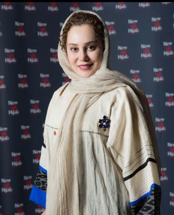 عکسهای جدید آرام جعفری در فروشگاه نیو حجاب