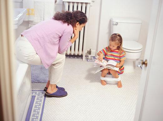 توالت رفتن کودک