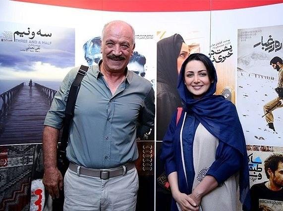 عکس شیلا خداداد در کنار سعید راد
