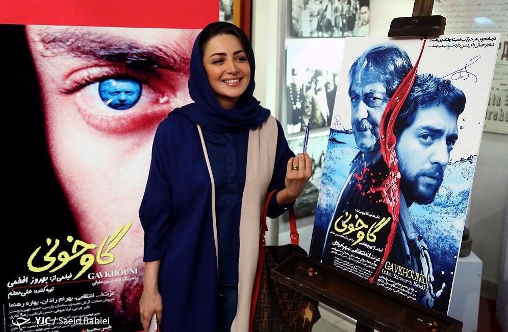 حضور شیلا خداداد در افتتاحیه فیلم گاوخونی