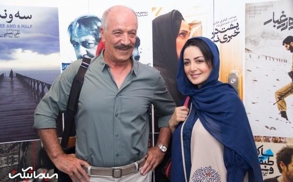 شیلا خداداد و سعید راد در اکران مجدد فیلم گاوخونی