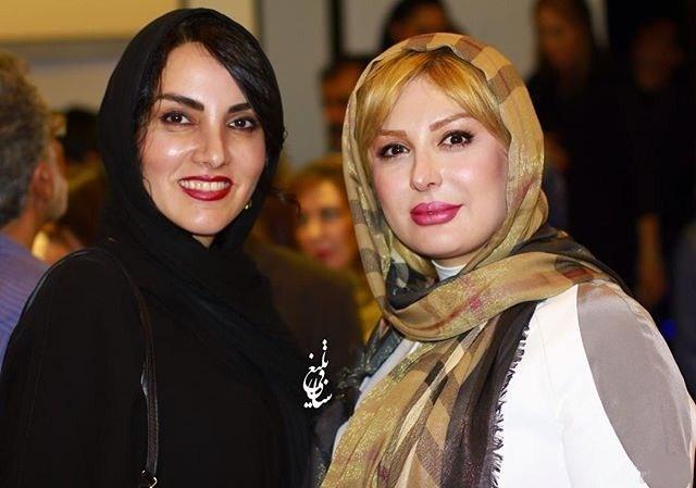 عکس نیوشا ضیغمی و مرجان شیر محمدی