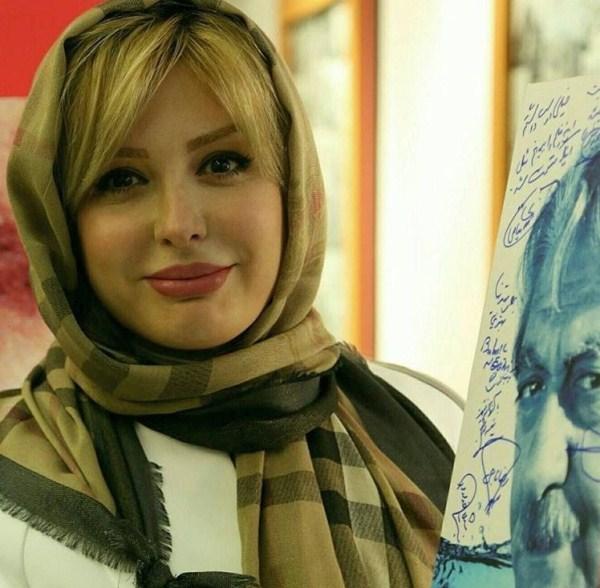 عکس نیوشا ضیغمی در نمایش فیلم گاو خونی
