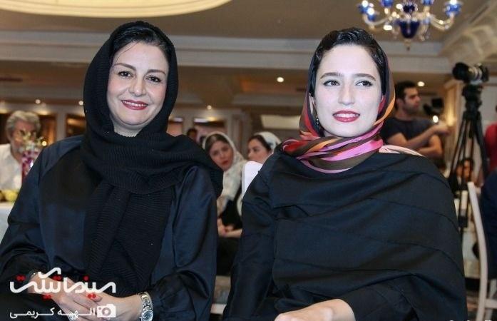 عکس نگار جواهریان و مریلا زارعی جشن روزنامه سینما