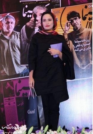 عکسهای نگار جواهریان در جشن روزنامه سینما