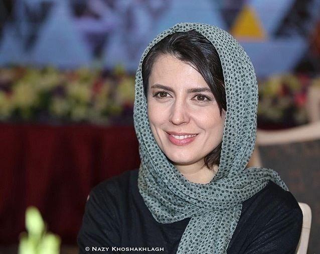 لیلا حاتمی در مراسم اولین جشن روزنامه سینما