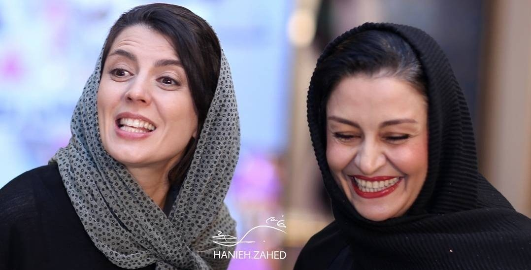 عکس لیلا حاتمی و مریلا زراعی در جشن روزنامه سینما