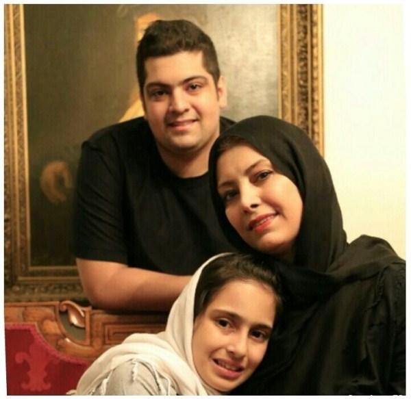 عکسهای جدید لادن طباطبایی و فرزندانش