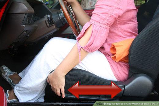 چگونه با نشستن صحیح در اتومبیل از ابتلا به کمر درد جلوگیری کنید؟