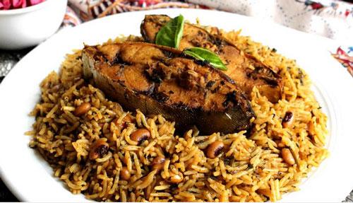 دمپخت ماهی بوشهری ( لخ لاخ )