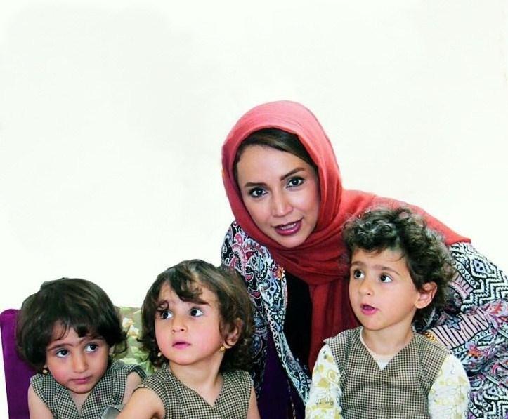 عکس شبنم قلی خانی در مجله حامی