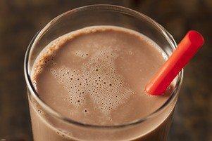 شیرکاکائو نوشیدنی گول زننده!