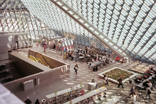 کتابخانهی جرج پیبادی، بالتیمور، مریلند