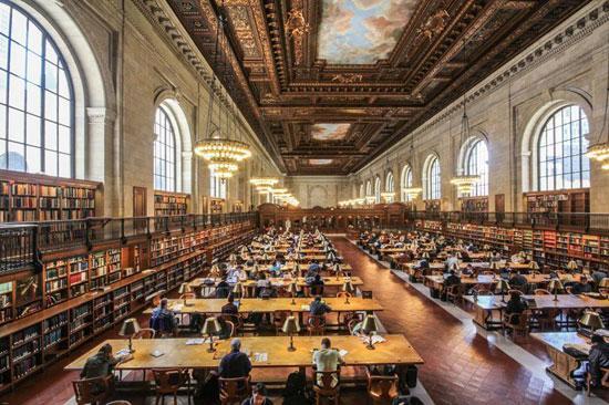 کتابخانهی عمومی نیویورک، نیویورک