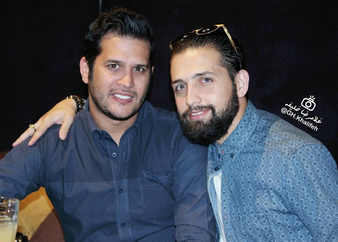 عکس جدید سیاوش خیرابی و محسن افشانی