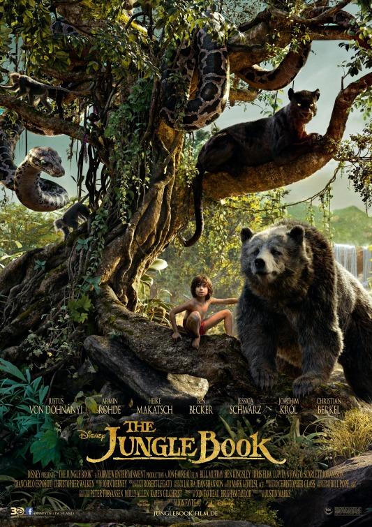 دانلود فیلم The Jungle Book 2016 کتاب جنگل