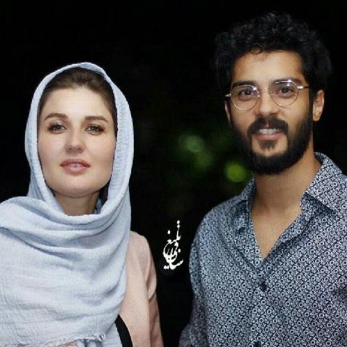 ساعد سهیلی و همسرشون گلوریا هاردی در اکران فیلم پل خواب در جشنواره فیلم شهر