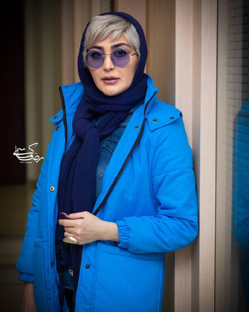 عکسهایی از مریم معصومی در اکران خصوصی فیلم ترانه