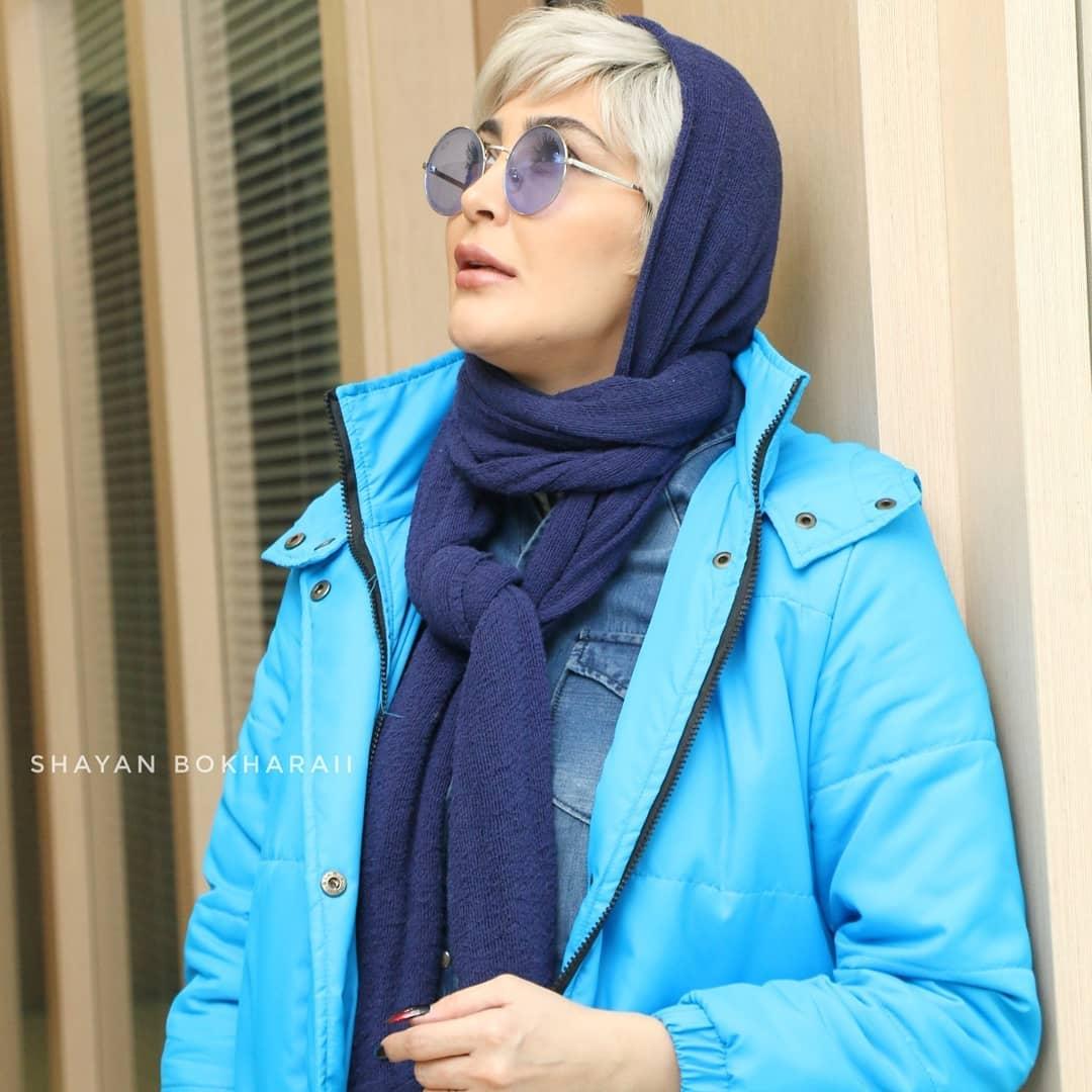 مریم معصومی در اکران فیلم ترانه