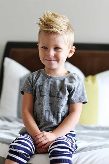 مدل موی کوتاه شیک و زیبا برای پسر بچه ها
