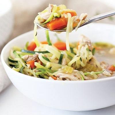طرز تهیه سوپ مرغ و کدو