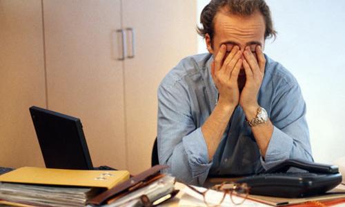 10راه مقابله با استرس در مردان