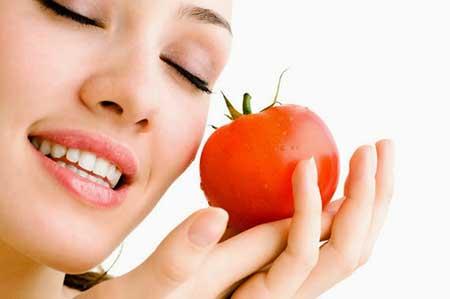 گوجه فرنگی و زیبایی پوست