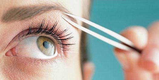 چند اشتباه رایج درطراحی و برداشتن موی ابرو