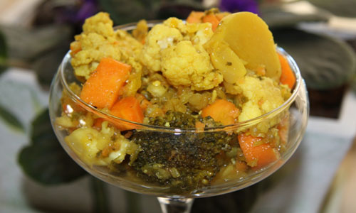 آشنایی با روش تهیه ترشی مخلوط سبزیجات