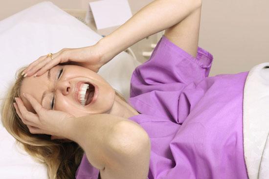 زنان و دردهای قبل از زایمان