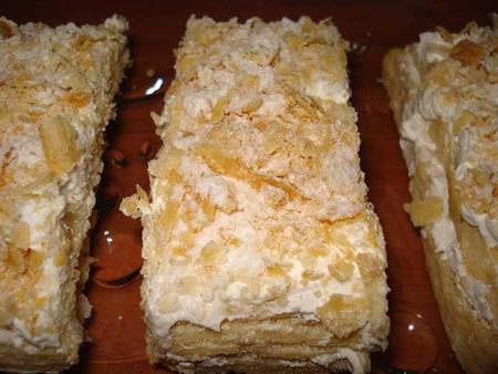شیرینی ناپلئونیِ خانگی با خمیر هزارلا